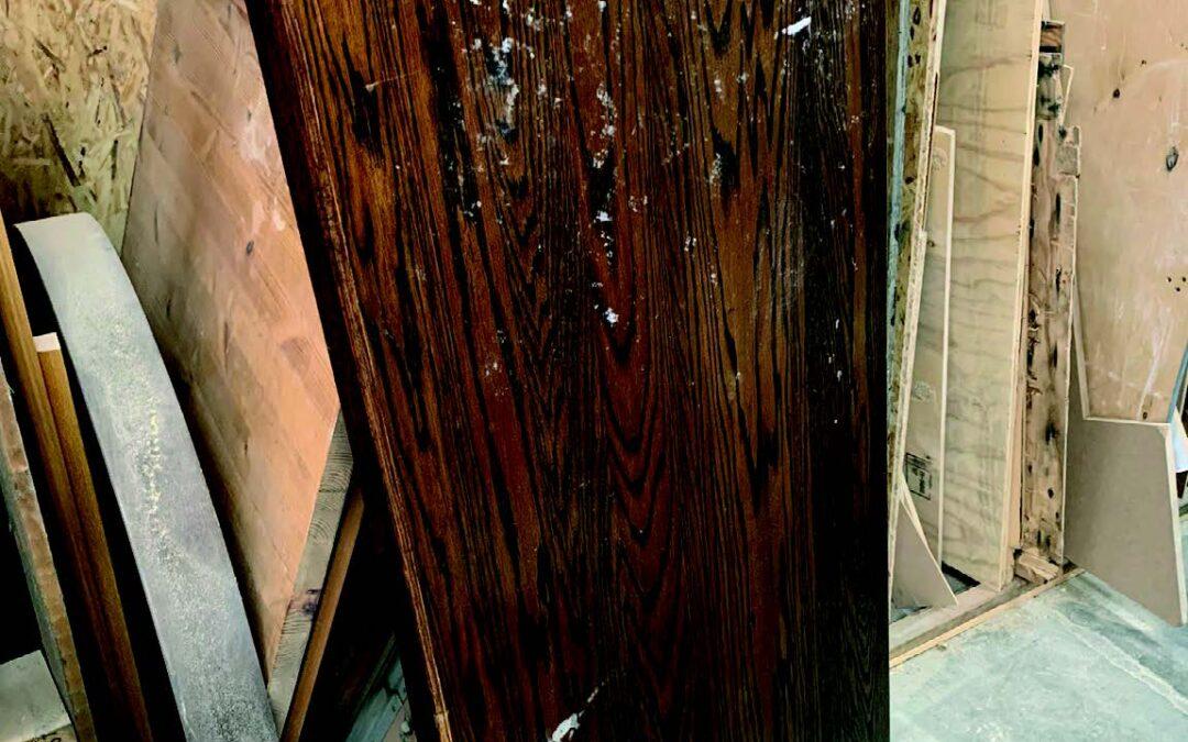 Van afval naar designlamp – Productieproces hout